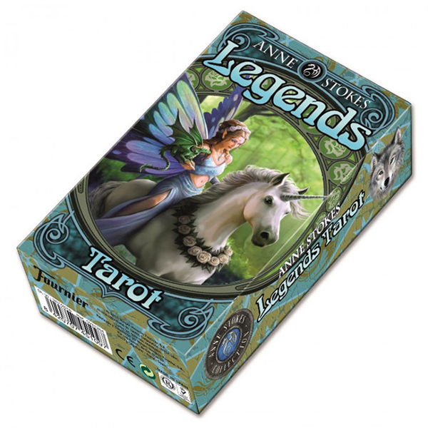 Fournier Anne Stokes Legends Tarot Deck - Τράπουλα Ταρώ
