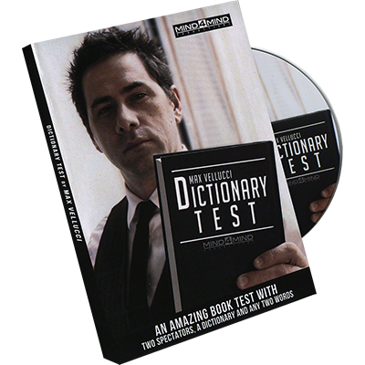 Dictionary Test (DVD) by Max Vellucci