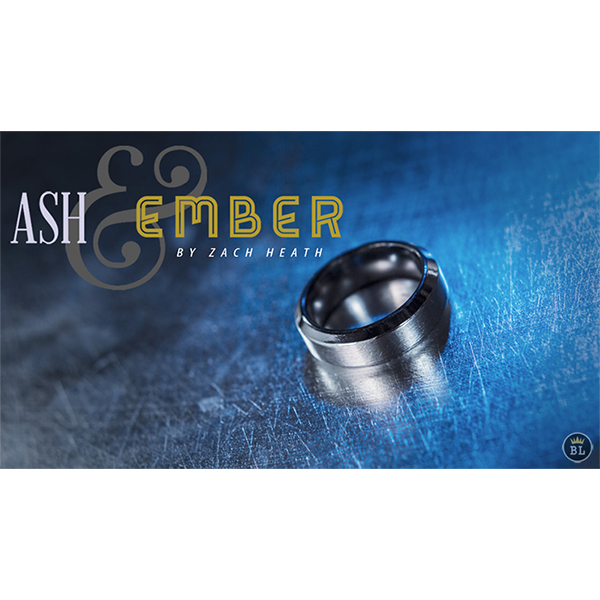 Ash And Ember (Silver Beveled Size 14) by Zach Heath