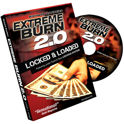 Extreme Burn 2.0 (With DVD) by Richard Sanders