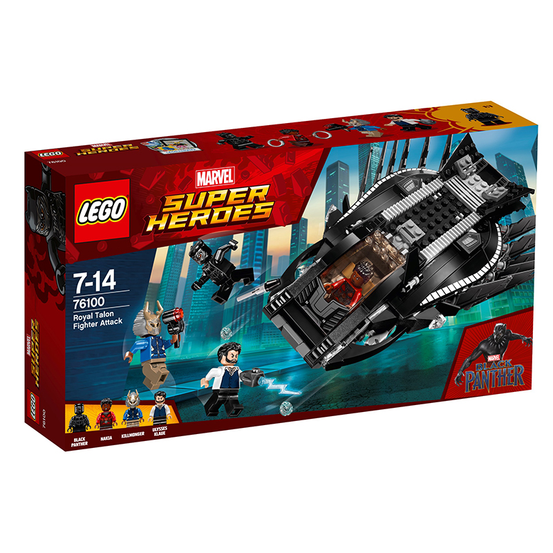 Lego Marvel: Royal Talon Fighter Attack (76100) 1