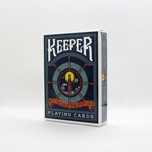 Keeper Blue Deck by Ellusionist