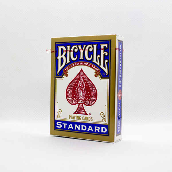 Bicycle Deck - Standard Rider Back (Blue)