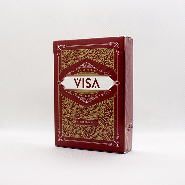 VISA Red Deck by Patrick Kun and Alex Pandrea
