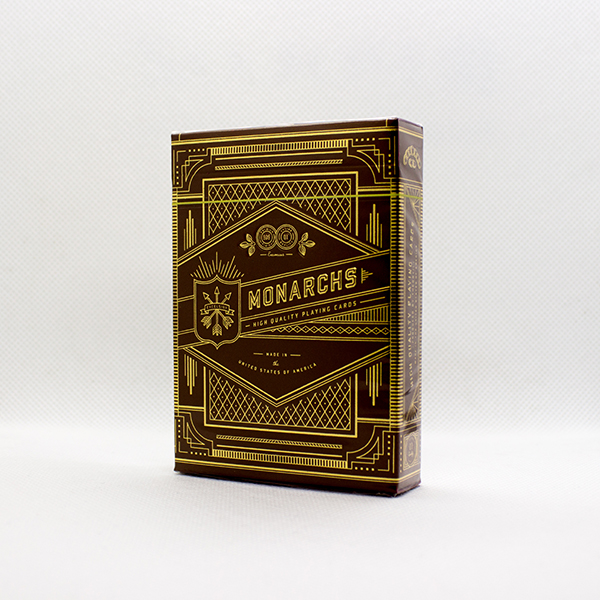 Monarchs Red Deck by Theory11
