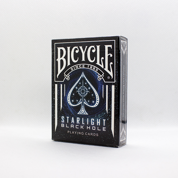 Bicycle Starlight Black Hole Deck by Collectable Playing Cards