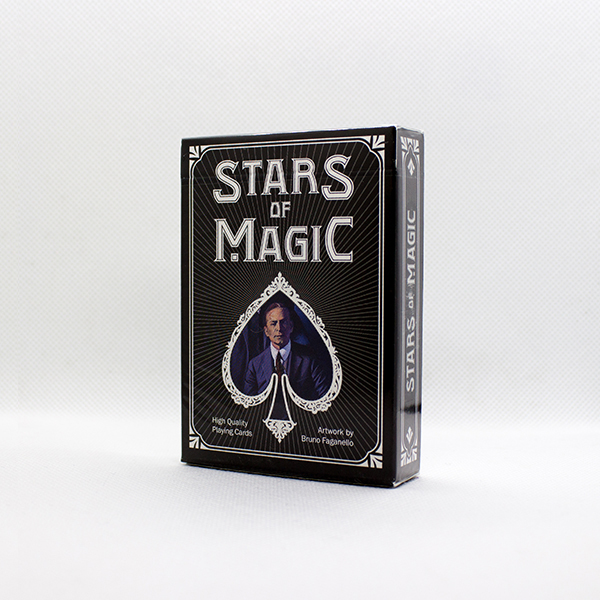 Stars Of Magic Black Deck by Lo Scarabeo