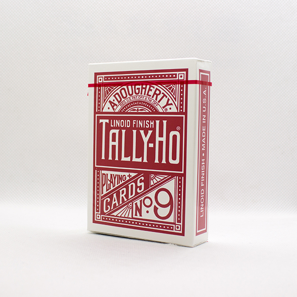 Tally-Ho Deck - Fan Back (Red)