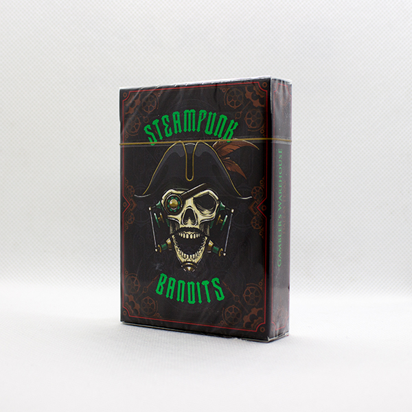Steampunk Bandit Skull Deck by Gambler's Warehouse