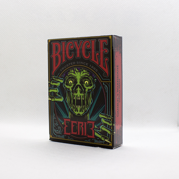 Bicycle Eerie Red Deck by Gambler's Warehouse