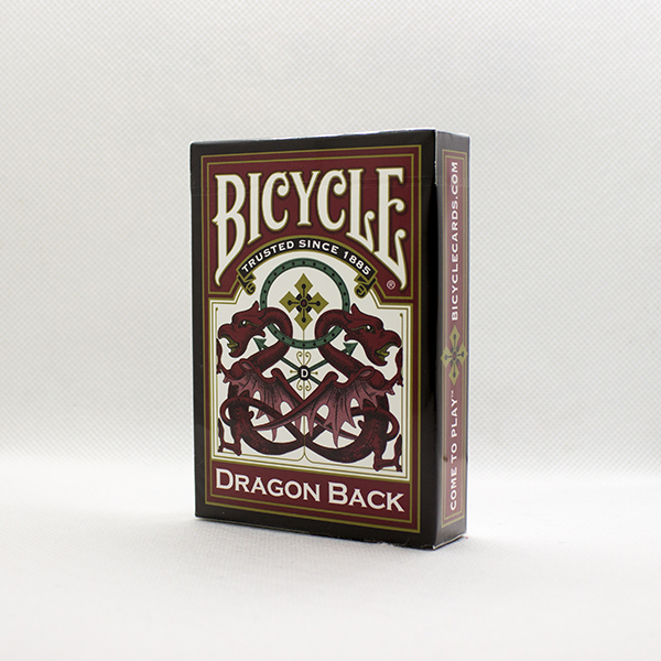 Bicycle Dragon Back Red Deck by USPC