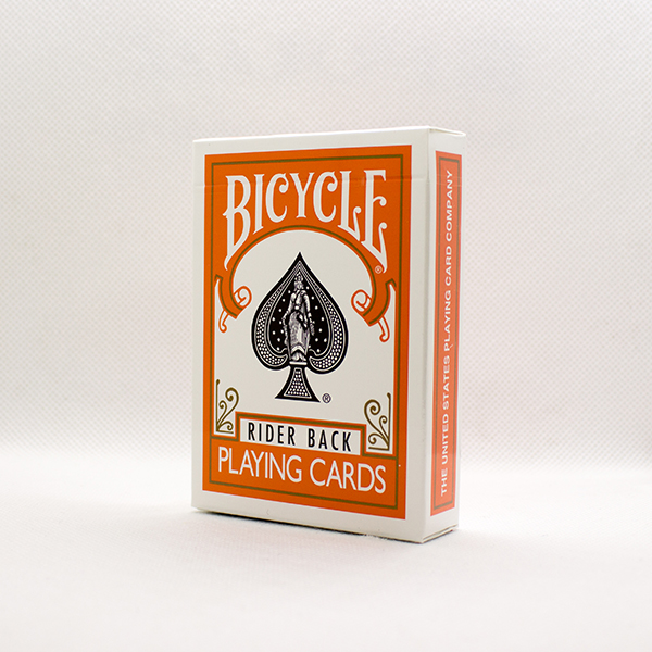 Bicycle Orange Back Deck by USPC