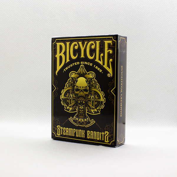 Bicycle Steampunk Bandit Black Deck by Gambler's Warehouse