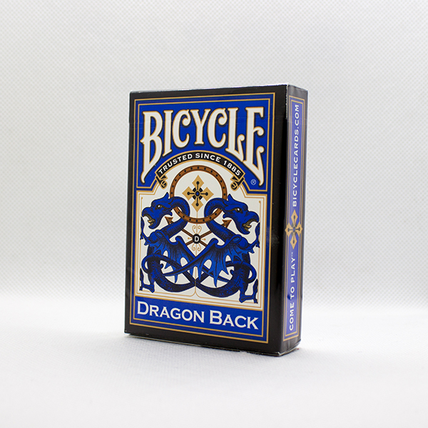 Bicycle Dragon Back Blue Deck by USPC