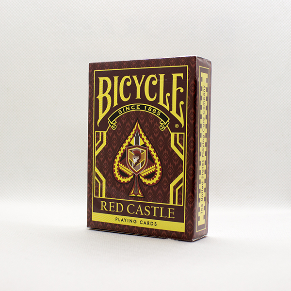 Bicycle Red Castle Deck by Collectable Playing Cards