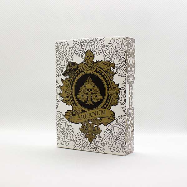 Arcanum White Deck by Gambler's Warehouse
