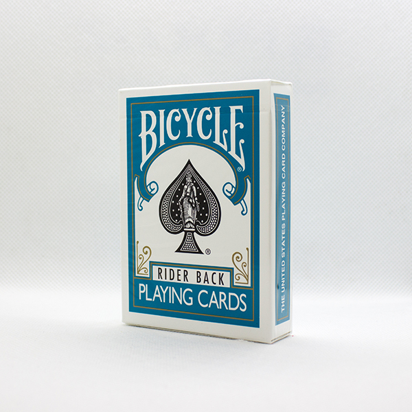 Bicycle Turquoise Back Deck by USPC