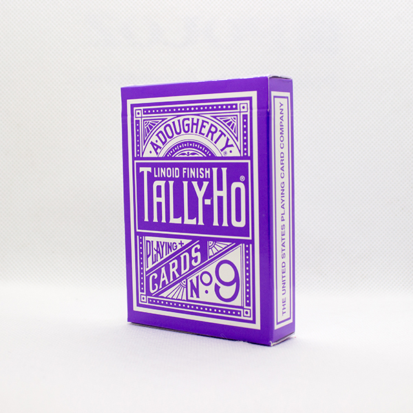 Tally-Ho Reverse Circle Back Purple Deck by Aloy Studios