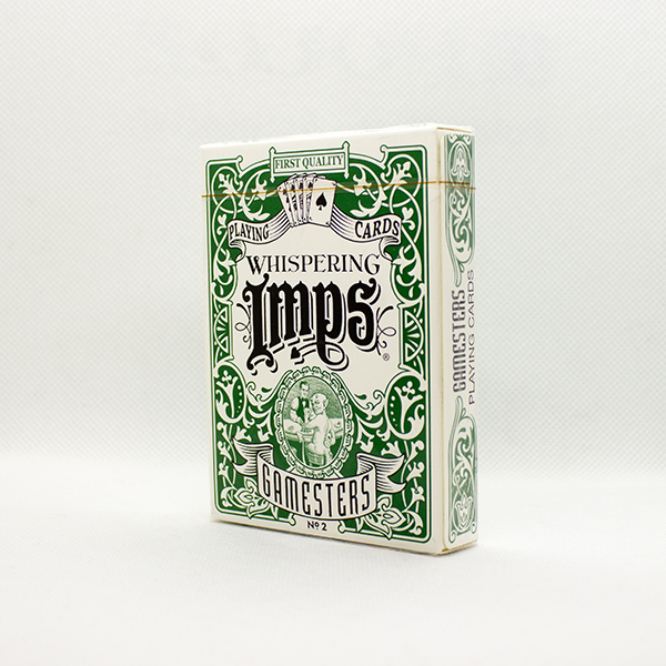 Exclusive Gamesters Green Deck by Whispering Imps