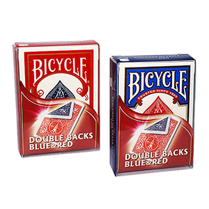 Bicycle Double Backs Blue / Red Deck
