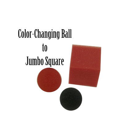 Color Changing Ball to Jumbo Square by Gosh