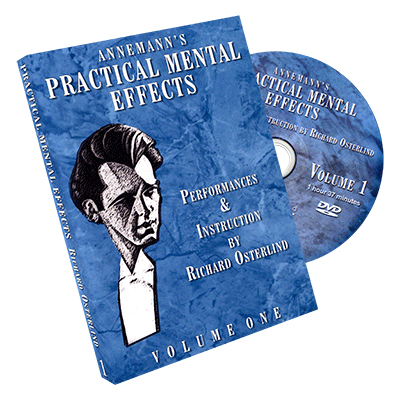 Annemann's Practical Mental Effects 1 (DVD) by Richard Osterlind