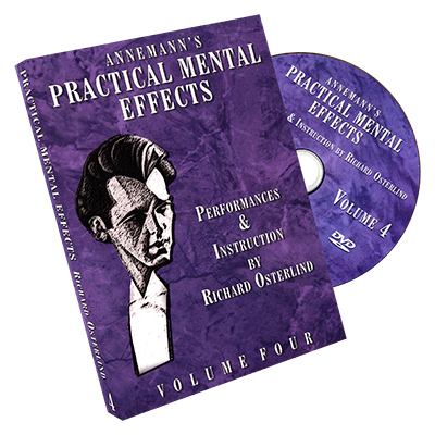 Annemann's Practical Mental Effects 4 (DVD) by Richard Osterlind