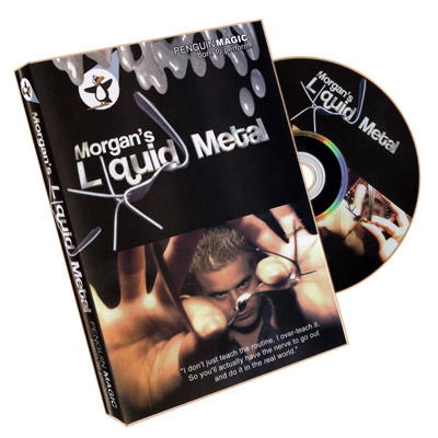 Liquid Metal (DVD) by Morgan Strebler