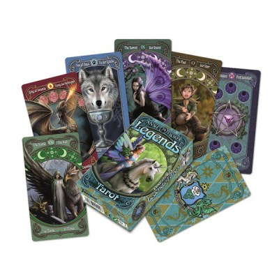 Fournier Anne Stokes Legends Tarot Deck - Τράπουλα Ταρώ 2