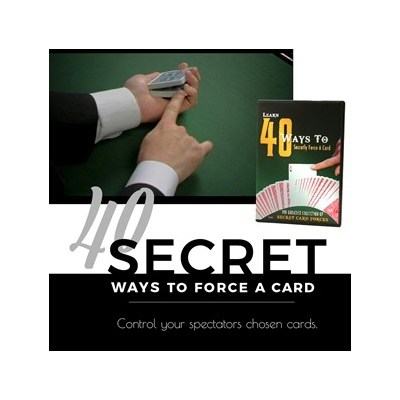 40 Ways To Force A Card (DVD) by Magic Makers Inc.