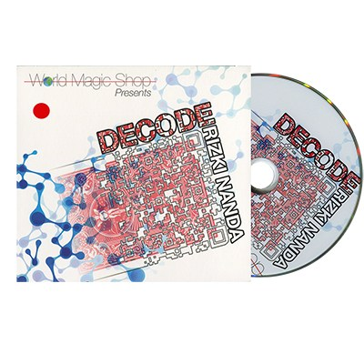 Decode Red (With DVD) by Rizki Nanda