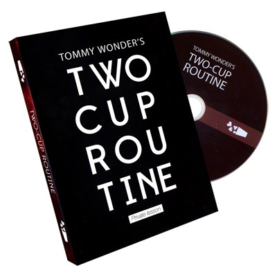 Tommy Wonder's 2 Cup Routine (DVD)