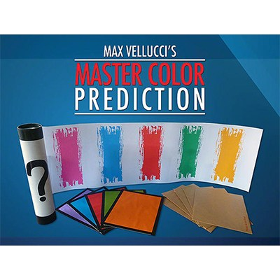 Master Color Prediction (DVD) by Max Vellucci