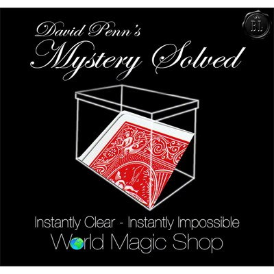 Mystery Solved by David Penn