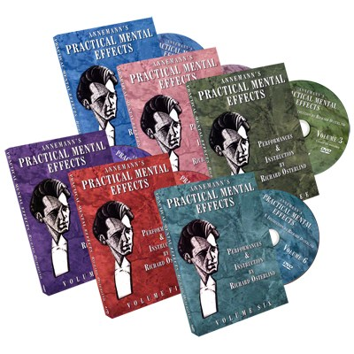 Annemann's Practical Mental Effects 1-6 (DVD Set) by Richard Osterlind