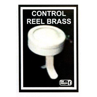 Control Reel (Brass) by Mr. Magic