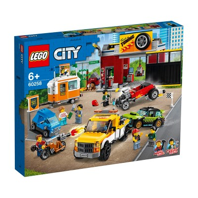 Lego City: Tuning Workshop (60258) 1
