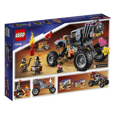 Lego Movie: Emmet & Lucy's Escape Buggy! (70829) 2