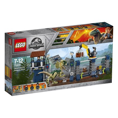 Lego Jurassic World: Dilophosaurus Outpost Attack (75931) 1