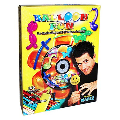 Balloon Fun Box (With DVD) by Mapez