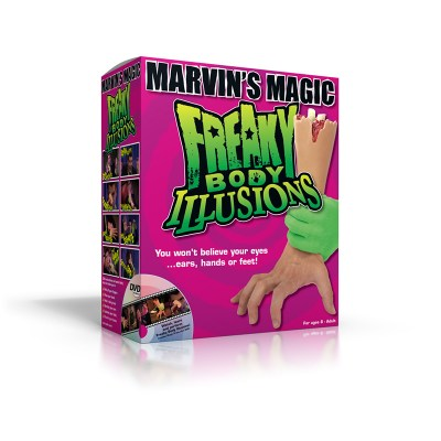 Freaky Body Illusions by Marvin's Magic