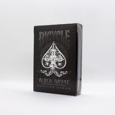 Bicycle Black Ghost Deck by Ellusionist