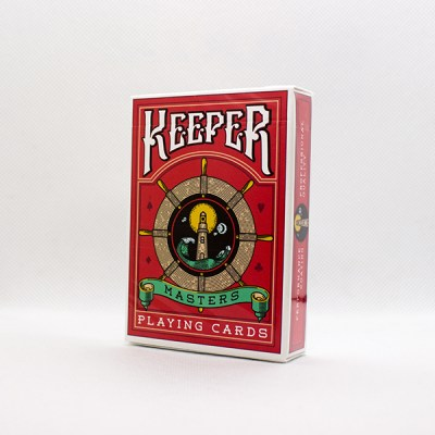Keeper Red Deck by Ellusionist