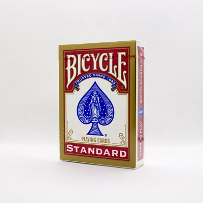 Bicycle Deck - Standard Rider Back (Red)