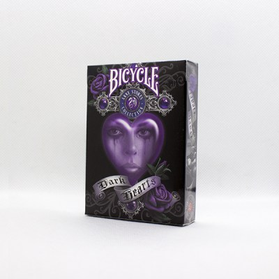 Bicycle Anne Stokes Dark Hearts Deck by USPC