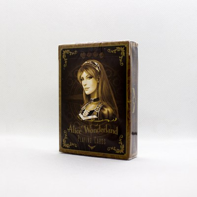 Alice Of Wonderland Gold Deck by Gambler's Warehouse