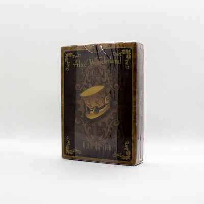 Alice Of Wonderland Gold Deck by Gambler's Warehouse 2