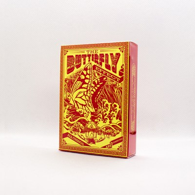 Bicycle Butterfly Deck by Eric Duan