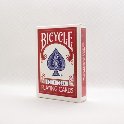 Bicycle Lefty Deck (Red) by HOPC