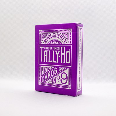 Tally-Ho Reverse Fan Back Laventer Deck by Aloy Studios